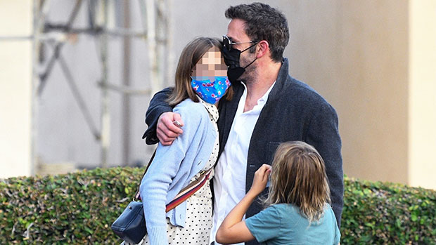 Ben Affleck Gives Daughter Violet, 15, A Sweet Kiss & Teaches Her How To Drive In New Photos