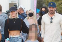 Photo of Brian Austin Green Gushes Sharna Burgess Has Been His 'Cheerleader' Since Joining 'DWTS'