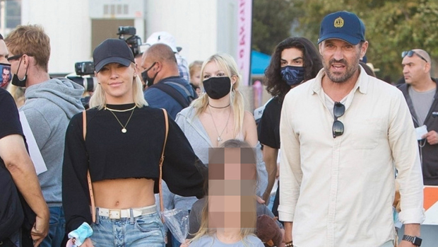 Brian Austin Green Gushes Sharna Burgess Has Been His 'Cheerleader' Since Joining 'DWTS'