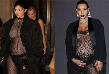 Photo of Pregnant Kylie Jenner Copies Kim Kardashian By Hiding Her Baby Bump In Sheer Bodysuit