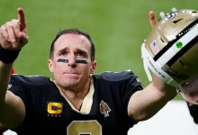 Photo of Drew Brees Sports Longer Hair On NFL Pregame Show & Fans Can't Stop Talking — Before & After Photos