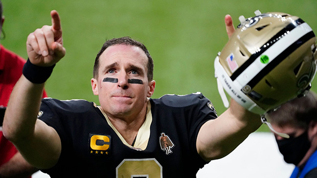Drew Brees Sports Longer Hair On NFL Pregame Show & Fans Can't Stop Talking — Before & After Photos
