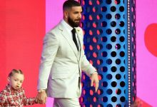 Photo of Drake Shares Cute New Photo Of Son Adonis, 3, Sticking His Tongue Out: 'I Feel You Kid'