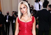 Photo of Addison Rae's Fans Are Convinced She Wore Kourtney Kardashian's Dress To Met Gala