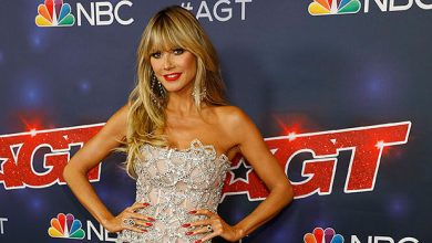 Photo of Heidi Klum Stuns In Sparkling Strapless Top & Chic Pants On 'AGT' Season 16 Finale