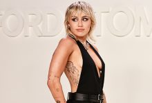 Photo of Miley Cyrus Twerks & Dances On Stage In Pink Top With Cutouts & Mini Skirt — Watch