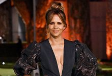 Photo of Halle Berry Turns Heads In Deep-V Mini Dress For Oscar Museum Opening With Van Hunt – Photos