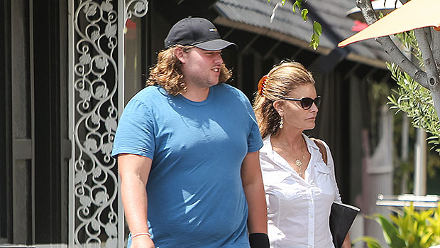 Photo of Christopher Schwarzenegger Shows Off Weight Loss While Getting A Pedicure With Mom Maria Shriver