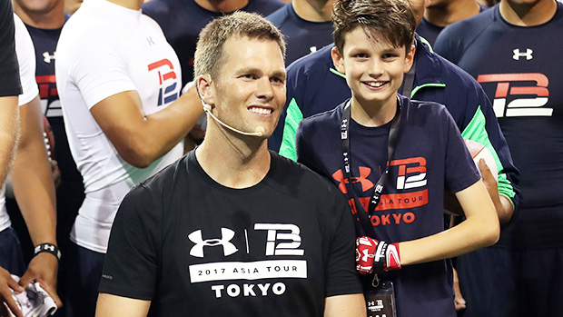 Photo of Tom Brady Bonds With Son Jack, 14, After Massive Buccaneers Win On Football Sunday — Watch