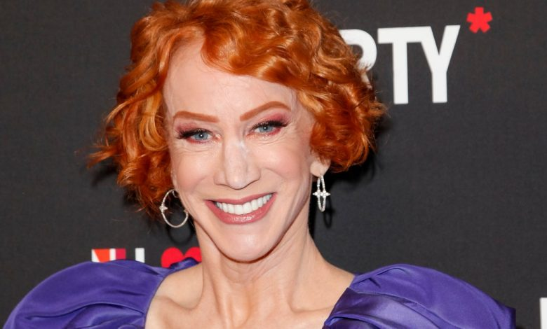 See Kathy Griffin Get a COVID-19 Booster and a Flu Shot at the Same Time