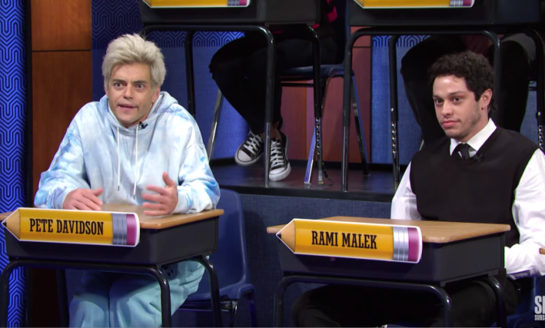 Photo of Rami Malek & Pete Davidson Impersonate Each Other On 'Saturday Night Live'