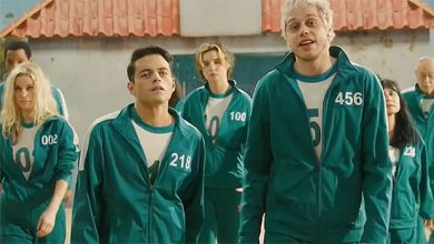 Photo of Rami Malek & Pete Davidson Spoof 'Squid Game' With Country Tune On 'SNL'