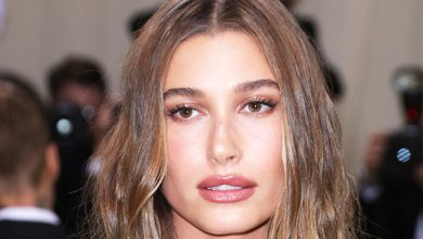 Photo of Hailey Baldwin's Brown Hair Makeover: She Shows Off Darker & Shorter Locks — Before & After Photos