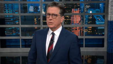 """Photo of Stephen Colbert Skewers Facebook's Anti-Hate Policy; Calls Site """"Uncle Radicalizer"""""""