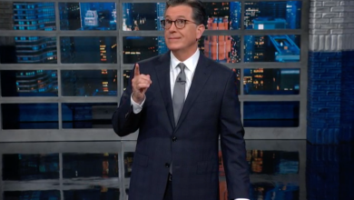 Photo of Stephen Colbert Talks Exploring New Towns Fakenem and We're-Screwedshire In The UK